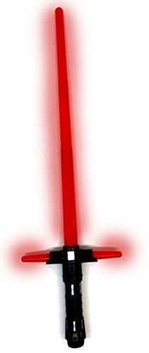 Kylo Ren Set bestehend aus Maske & elektrischem Lichtschwert, FX Laserschwert mit Licht & Sound - 2