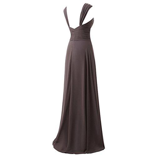 Find Dress Robe de Bal Longue Princesse Robe de Cérémonie Femme pour Mariage Style Elégant Anniversaire Gala Gown Taille Personnaliser en Mousseline Vert