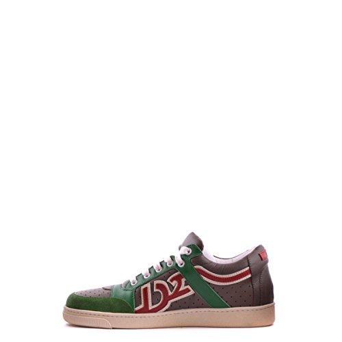 Dsquared2 Dsquared chaussures baskets sneakers homme en cuir vert Vert