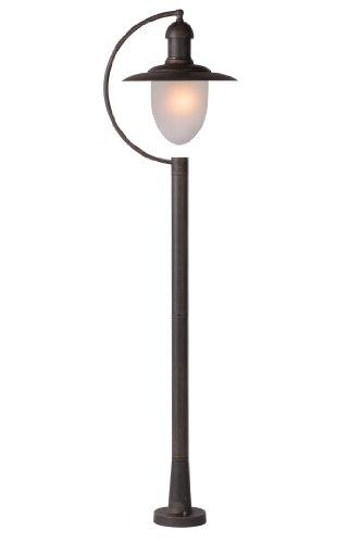 Lucide ARUBA - Lanterne/Lampadaire Exterieur Extérieur - IP44 - Rouille