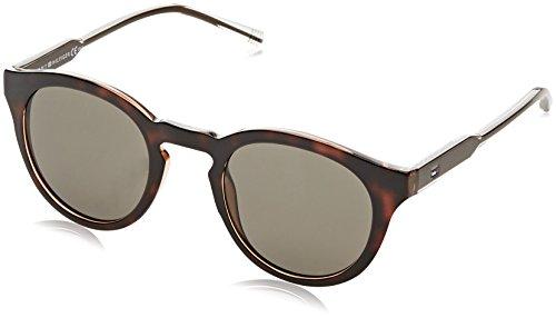 Tommy Hilfiger Unisex-Erwachsene Sonnenbrille TH 1443/S 70 PAF 48, Beige (Bei Crybw/Brown) Preisvergleich