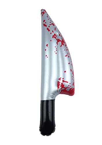Islander Fashions Kinder Aufblasbare Blutiges Messer 40 cm Kid Scary Halloween Party Supply Zubeh�r Eine Gr��e (3er Pack) (Scary Party Supplies)