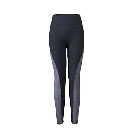 OverDose Women Women Capri Yoga Running Elastic Sport Pants Leggings