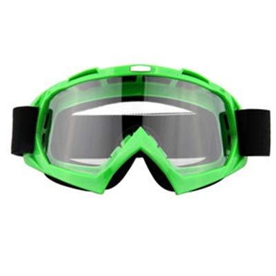 Yutongyi Extremsportarten Motorradbrillen Motocross Xinxun Sportbrillen Reitbrillen UV-Nebel-Schutz Winddicht Schutzbrillen für Outdoor Ski Snowmobile Fahrrad Motorrad Golf Fahren (Color : Green)