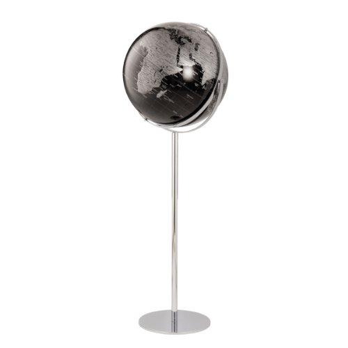 emform Standglobus Apollo17 Black, Aluminium & Kunststoff, 430 x1320 mm