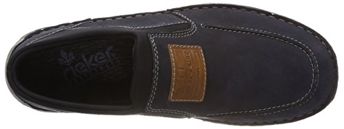 Rieker Herren 05352 Slipper Blau (ozean/Amaretto/Schwarz)