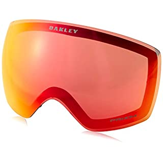 Oakley Herren Flight Deck 705049 0 Sportbrille, Schwarz (Factory Pilot Blackout/Prizmjadeiridium), 99