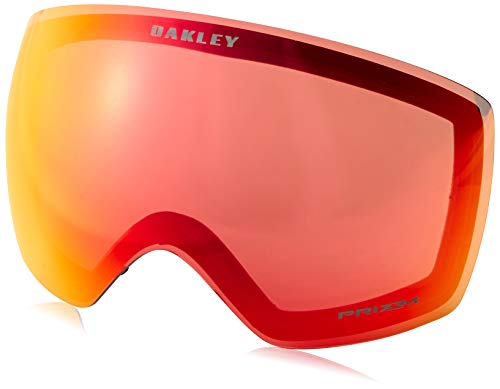 Oakley Herren Flight Deck 705049 0 Sportbrille, Schwarz (Factory Pilot Blackout/Prizmjadeiridium), 99