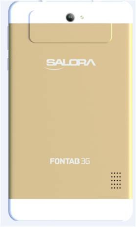 Salora Fontab FT-16/002 Tablet (8GB, 7 Inches, WI-FI) Gold, 1GB RAM Price in India