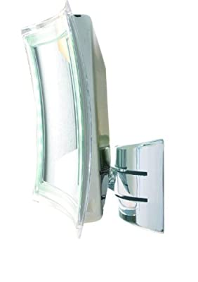 Enzo Rodi 411210 LED-Wandspiegel Palini / 16 x 16 cm / chrom von Roman Dietsche Gmbh - Spiegel Online Shop