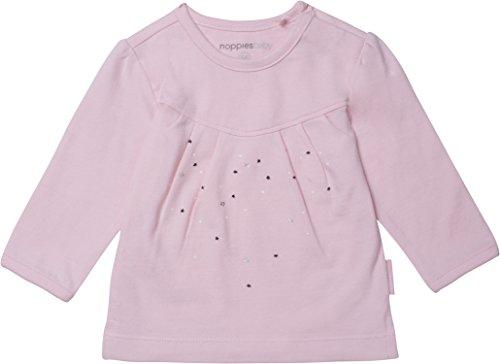 Noppies Baby-Mädchen Langarmshirt G Tee Ls Bristol, Rosa (Light Pink C091), 50