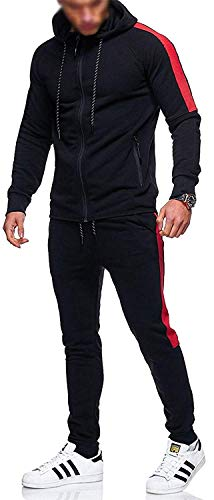 Mymixtrendz. Kids Boys Contrast Tracksuit Trainingsuit Schoolsuit Hoodie & Bottom Jog Suit New Age 7-13
