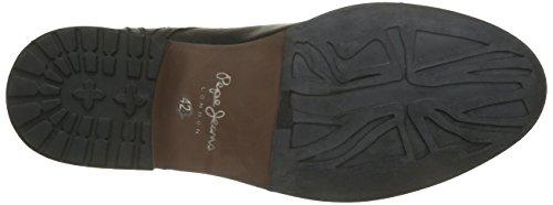 Pepe Jeans Baltic, Chaussures Lacées Homme Noir (999Black)
