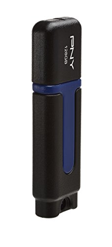 Pny Attache USB 2.0 128GB Pen Drive (Black)