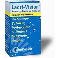 Lacri-Vision Benetzungslösung für das Auge Spar-Set 6x10ml Augentropfen. Schützt, befeuchtet und lindert belastete... preisvergleich bei billige-tabletten.eu