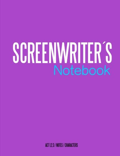 Screenwriters Notebook: Cinema notebooks for cinema artists
