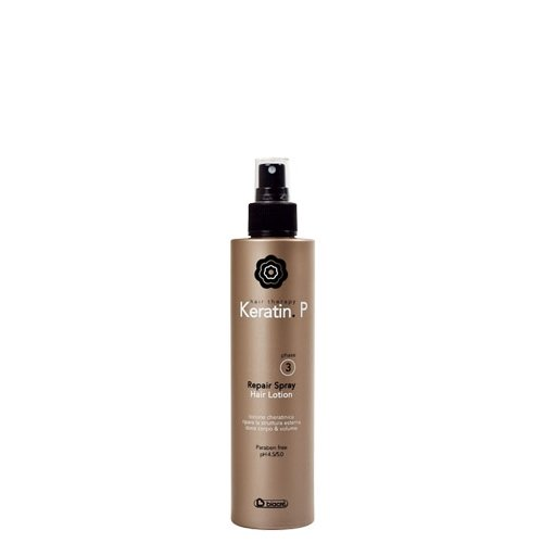 Repair Spray Hair Therapy Lotion 200 ml Keratin.P phase 3 Biacrè ® Lotion cheratinica réparation de la structure extérieure Dona corps & Volume – Paraben Free – PH 4.5/5.0