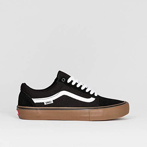Vans old skool kids' black/white/medium gum kids 5.5uk / black/white/medium gum