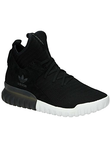 adidas Tubular X Primeknit Black Grey White Black