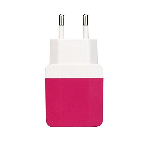 FNKDOR Handy USB ladegerä mit 2 USB-Anschlüssen, für iPhone / IPAD / Samsung Galaxy / Huawei und alle USB Geräte