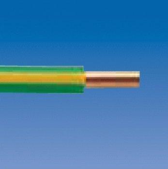 Kopp 155405842 Aderleitung H07 VU, 1 x 6 mm², 5 m, grün / gelb von Kopp - Lampenhans.de