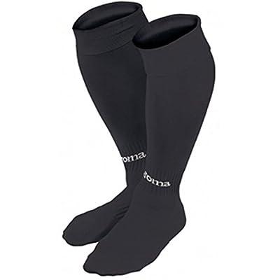 Joma Classic - calcetines de fútbol para hombre, Negro, L