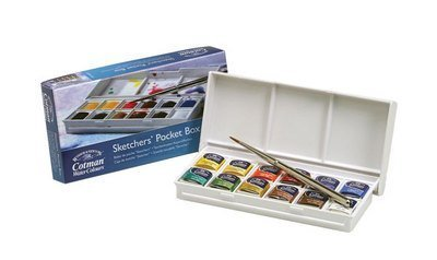 Winsor & Newton Cotman Watercolour Sketch Pocket Box by Winsor & Newton
