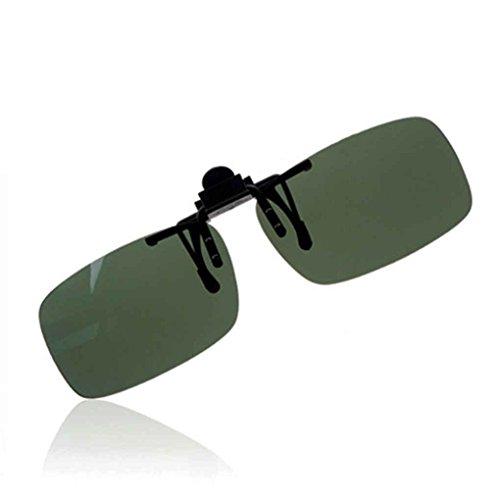 Idyandyans Brillen polarisierten Klipp auf Flip Up Fahren Sonnenbrille