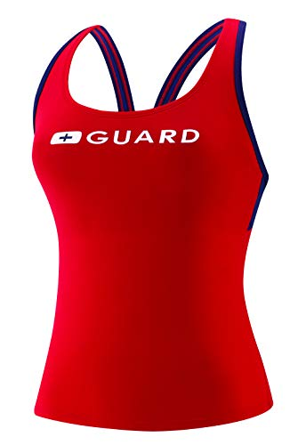 Speedo Guard (Speedo Guard Tankini Endurance Lite, US-Rot, Größe L)