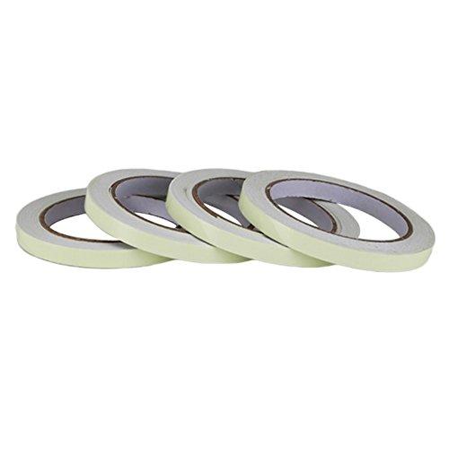 (10m * 10Luminous-Tape selbstklebend grün Light Sicherheit Klebeband für Home Motorrad Dekorationen)