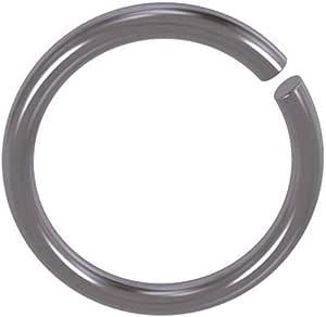 6 mm Runddraht Sprengring Sicherungsring DIN 7993 Form A f/ür Welle 5 St/ück