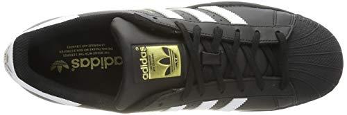 adidas Originals Superstar Foundation Herren Sneakers, Schwarz - 7