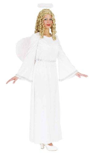 Christkind Kostüm - Orlob Engel Damen Kostüm weißsilber als