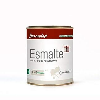 Pintura esmalte sintético Durcaplast, ideal para la protección, decoración y mantenimiento de superficies de hierro y madera. Uso Interior/Exterior
