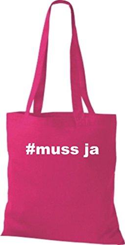 Crocodile #doit leur hashtag hipster oui, sac shopper sac à bandoulière plusieurs couleurs Rose - Rose