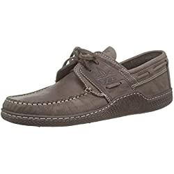 TBS GONIOX, Chaussures Bateau Hommes, Marron (Ebene E8015), 42 EU