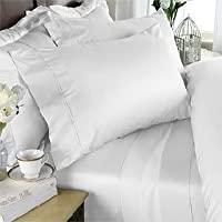 Egyptian Bedding - Set di lenzuola in cotone egiziano a
