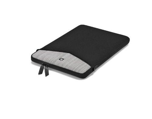 Dicota Code Sleeve D30571 Neoprenhülle für Notebook bis 33 cm (13 Zoll) grau/schwarz