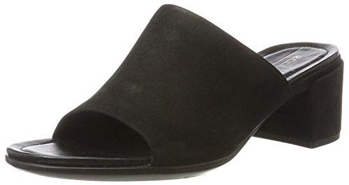 Ecco Damen Shape 35 Block Sandal Offene Keilabsatz, Schwarz (2001BLACK), 42 EU
