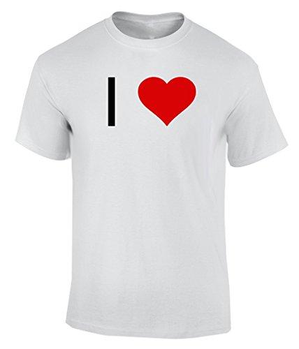 I Love JAZZ - XX-Large Maglietta Uomo