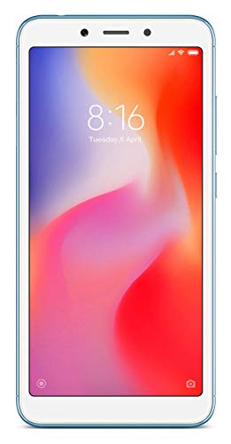 Mi Redmi 6A (Blue, 2GB RAM, 16GB Storage)