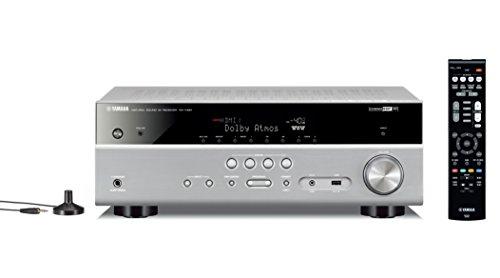 Yamaha MusicCast RX-V581 Sintoamplificatore AV 7.1, Argento