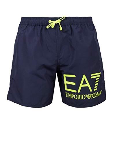 5079ce5ba4 Ea7 Swimwear Seaworld Eagle Graphic Swim Shorts Medium Navy