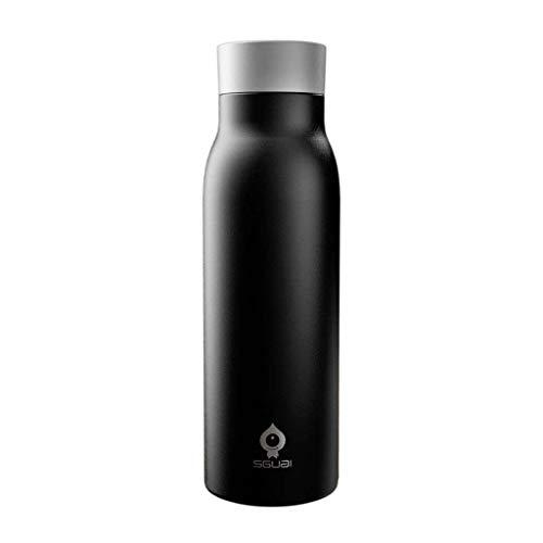 trimmen Shop 400ml doppelwandige Vakuum Isolierte Edelstahl Thermo Flasche mit Digital Display für Wasser Temperatur & Hydration Tracker Unterstützung Handy App Sync Bluetooth 4.0Smart Tasse G1 G1 Handy