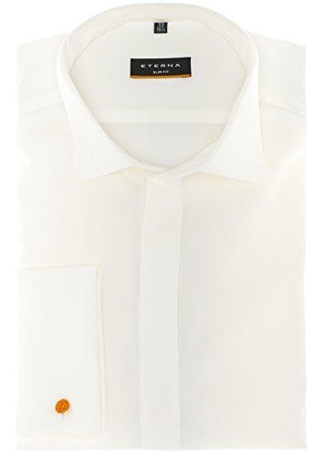 Eterna - Gala Slim Fit - Bügelfreies Herren Hemd mit Kent Kragen (8500 F362) Champagner (21)