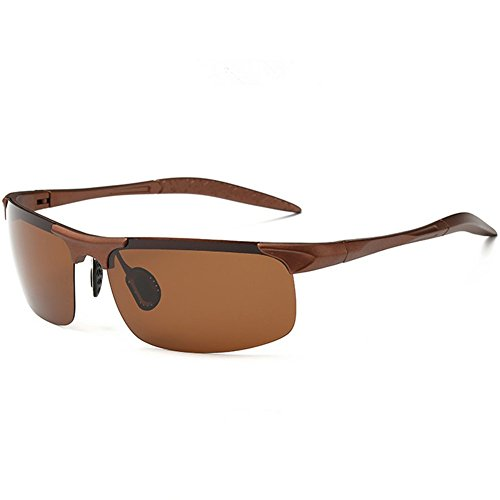 Z-P Fashion Men's Outdoor Sports Style Bicycle Night Vision Driving Glasses Polarized Lens Ultralight Sunglasses 68MM