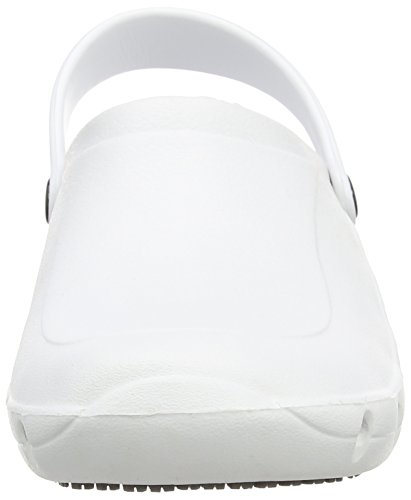 Toffeln Eziklog Scarpe Antinfortunistiche da Adulto, Unisex Bianco (White)
