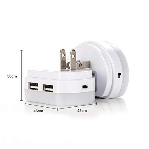 Led Nachtlichter mit Dual Usb-Port-Ladegerät Sensor Licht Steuerung Schlafzimmer Wandleuchte Home Notlichter -