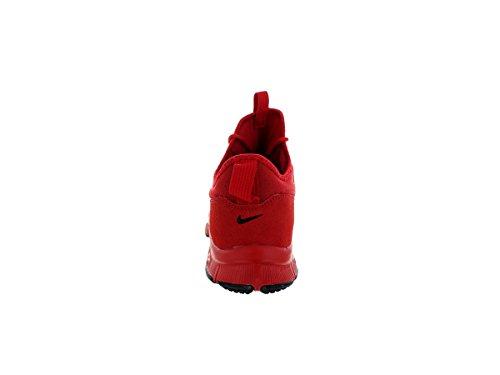 Nike Uomo Free Ace Lthr scarpe da calcio Rosso / Nero (University Red / Unvrsty Red-Blk)