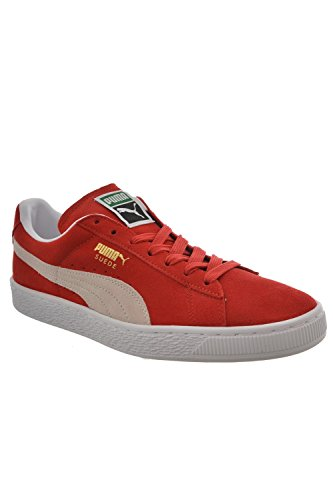 Puma Baskets Mode Suede Rouge
